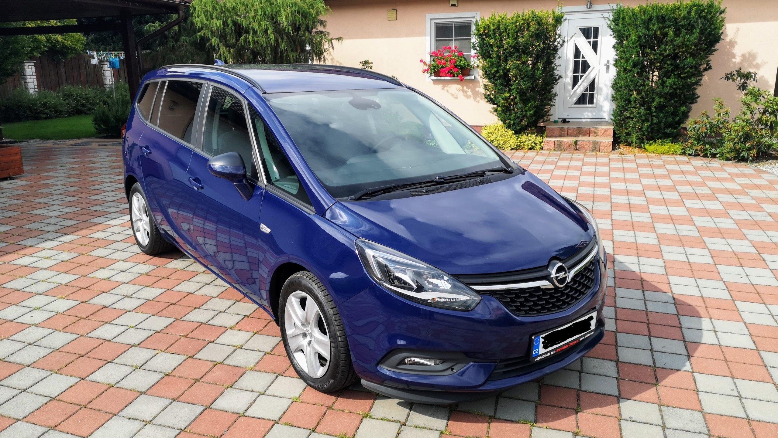 Dovoz aut,Opel Zafira Tourer